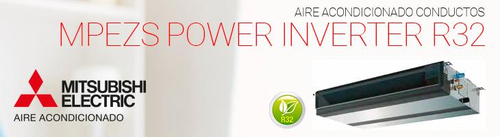 Aire acondicionado Conductos MPEZS Power Inverter R32