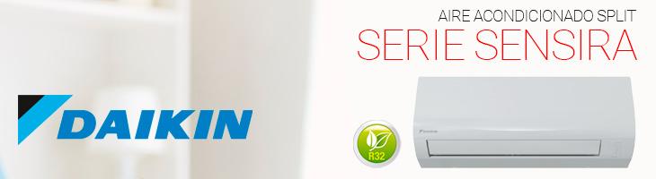 Aire acondicionado SPLIT Dakin Serie Sensira